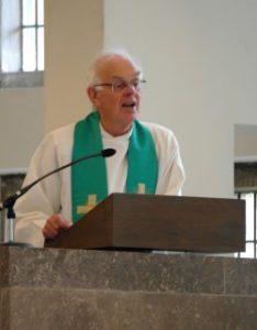 Rev'd Michael Bayley preaching at St Mark's